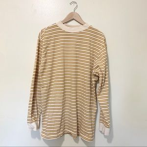 Urban Outfitters long sleeve striped shirt, large